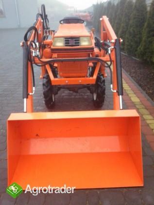 Kubota Bultra B 10  10 KM TUR mini mikro traktor 4x4 Yanmar  - zdjęcie 6