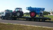 Transport Maszyn leśnych maszyn rolniczych maszyn budowlanych