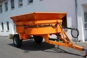 Betoniarka 3000 litrów z podwoziem mobilna Fliegl