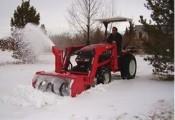 pług śnieżny wirnikowy B5418F 137cm z pompą