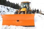 Pługi do śniegu -- do koparkoładowarek---i ładowa