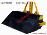 Szuflada załadowcza - mechaniczna PRM-120 + burta