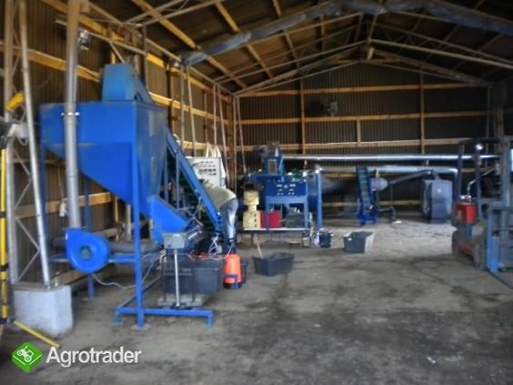 Linia do produkcji granulatu z kurzeńca