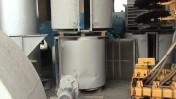 Suszarnia do zboża, przepływowa, piec 220 KW olej