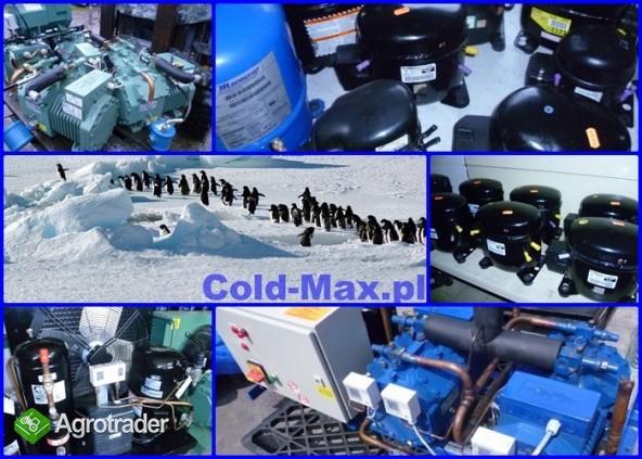 Używana sprężarka chłodnicza agregat chłodniczy parownik skraplacz