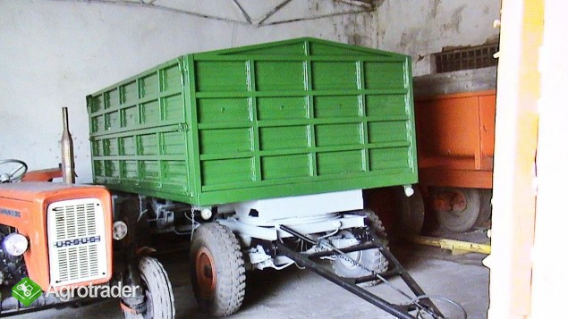 Przyczepa HW pojemność 10 ton