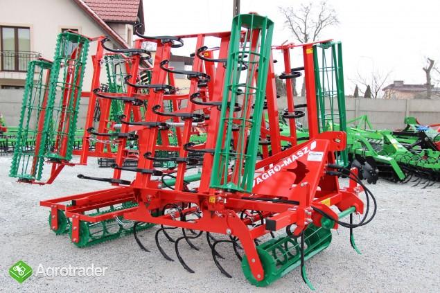Agregat uprawowy hydrauliczny AGRO-MASZ hydraulicznie składane - zdjęcie 1
