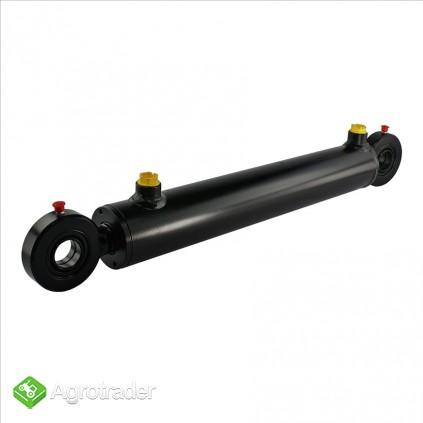 Cylinder siłownik hydrauliczny SKOK 140 L 370 dwustronny tłok