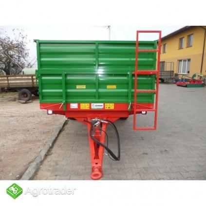 Przyczepa przyczepy rolnicza jednoosiowa GOMAR GPJ 103/1