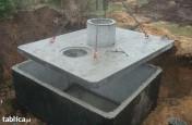 szamba betonowe z atestem i 2-letnią gwarancją, transportem, montażem