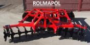 Brona talerzowa ALFA od 1,6 do 3,15m; ROLMAPOL; Strumyk