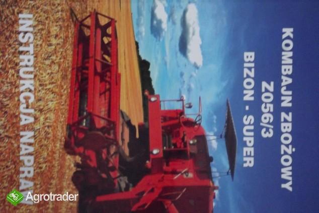 Katalog części do kombajnu zbożowego,instrukcji obsługi napraw BIZON - zdjęcie 2