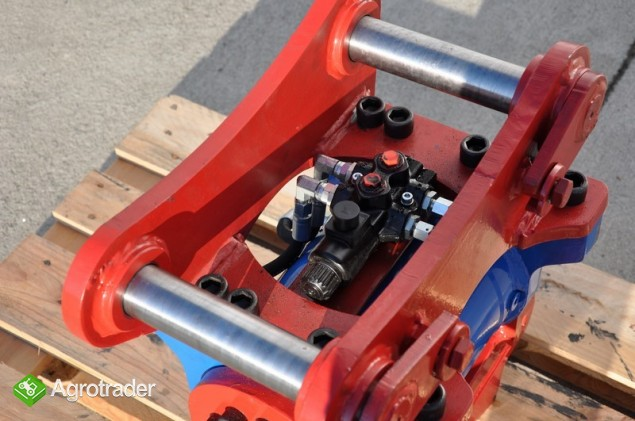Euro-Maszyny Szybkozłącze obrotowe hydrauliczne TILTRATON do maszyn 10 - zdjęcie 1