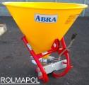 Rozsiewacz nawozów polowy, sadowniczy, metal ocynk, ABRA ROLMAPOL