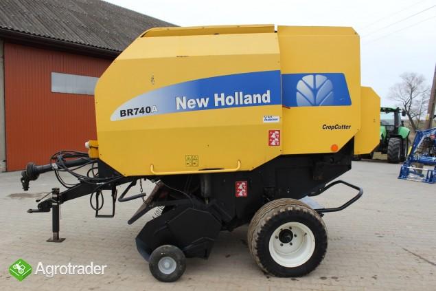 New Holland BR740A prasa - zdjęcie 3