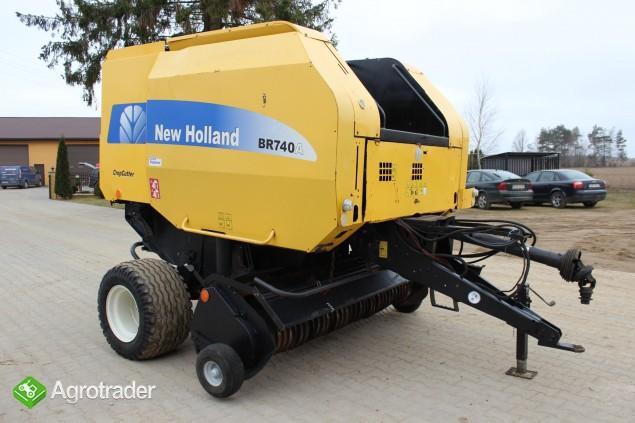 New Holland BR740A prasa - zdjęcie 8