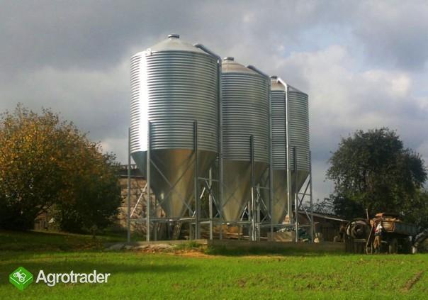 Silos silosy paszowe do zboża materiałów sypkich agro met - zdjęcie 4