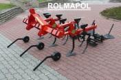 Ciężki wzmocniony nowoczesny wielofunkcyjny pielniko obsypnik ROLMAPOL