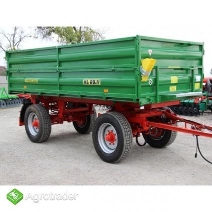 Przyczepa rolnicza ciężarowa 6 ton HL 6011 jak nowa okazja