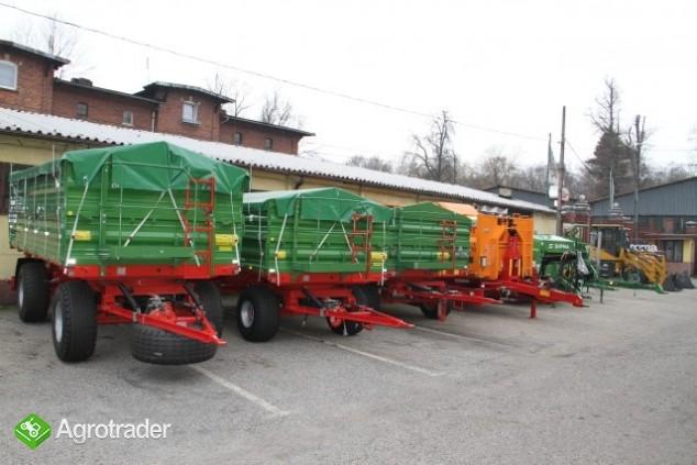 Pronar T672 przyczepa rolnicza 8t wywrotka trójstronna nowa - zdjęcie 1