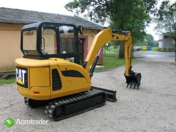 koparkikrakow.pl - CAT 3025C z 2010 r. - sprzedam
