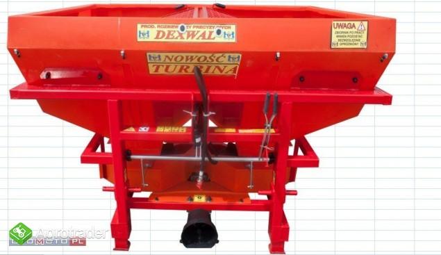 rozsiewacz nawozów TORNADO DUO 600l 850kg 2018 - zdjęcie 2