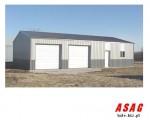 Hala stalowa konstrukcja 10x30x5 warsztat myjnia + projekt budowlany