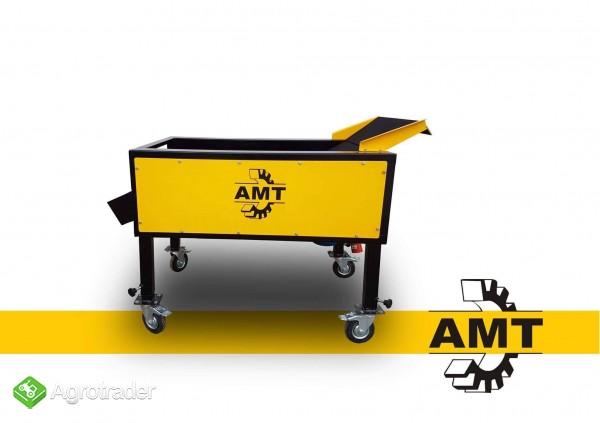 AMT,czyszczarka gumowa, szczotkarka, separator ziemi  - zdjęcie 3