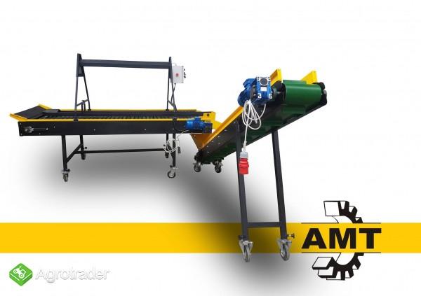 AMT, Stół selekcyjny rolkowy, stół przebierczy do warzyw