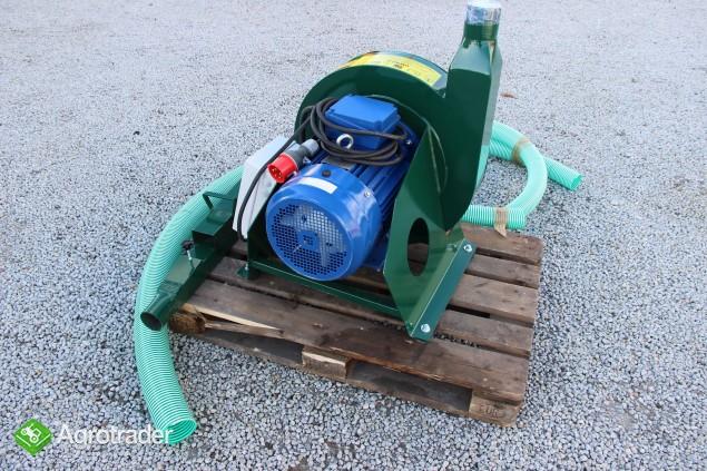 Rozdrabniacz bijakowy śrutownik ssąco-tłoczący ADRAF - zdjęcie 2
