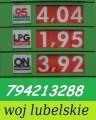 Stacje paliw w woj lubelskim - możliwa dzierżawa