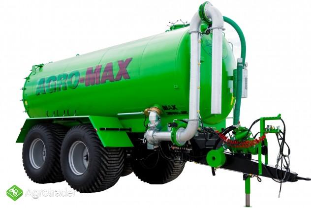 Beczkowóz wóz asenizacyjny tandem agro-max