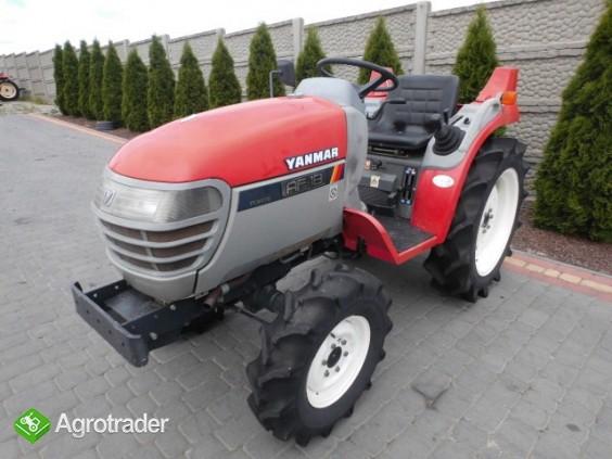 Yanmar AF18 super stan kubota iseki mini traktor - zdjęcie 2