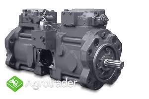 Kawasaki K3V112DTP17LR-9TDL, Kawasaki K3VG63, Hydraulika siłowa
