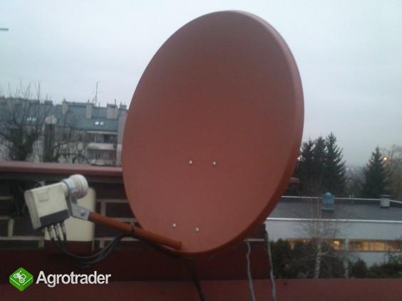 MONTAZ serwis zestawow satelitarnych ANTENOWYCH ustawianie ANTEN regul - zdjęcie 1