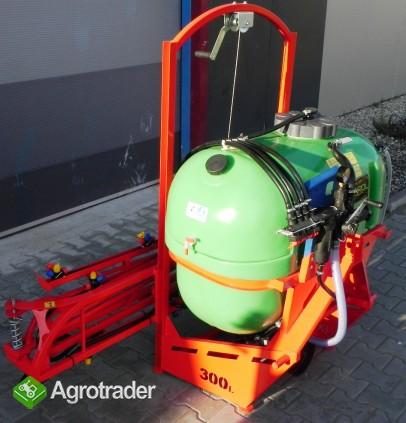 Opryskiwacz polowy zawieszany 300 litrów opryskiwacze lanca 10m - zdjęcie 3