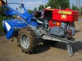 Ciągnik jednoosiowy, traktor z glebogryzarką  24 KM, silnik Diesla