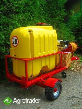 Opryskiwacz  do wózków widłowych ładowarek kołowych, 400L, 6,5 kM,  - zdjęcie 4
