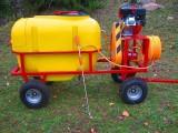 Opryskiwacz spalinowy wózkowy zbiornik 200L, silnik 6,5 HP, 14-22l/min