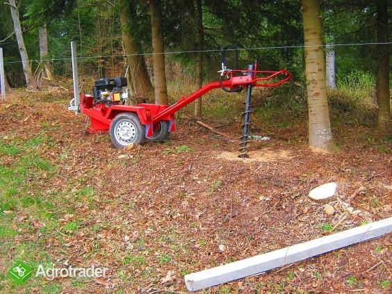 Wiertnica hydrauliczna glebowa o napędzie spalinowym 13 KM,  - zdjęcie 6