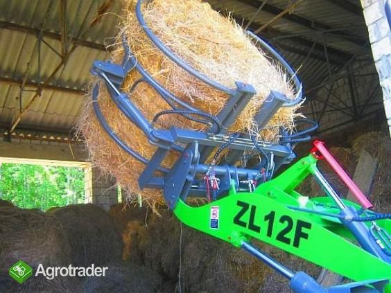 ŁADOWARKA KOŁOWA MODEL ZL12F wraz z osprzętem Udźwig max: 1200kg  - zdjęcie 2