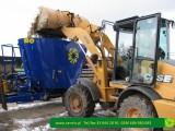 Przyczepa maszyna do kompostowania - mobilna kompostownia