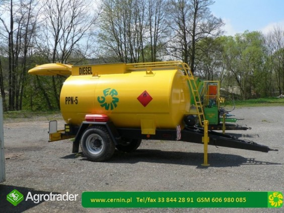 Zbiornik na paliwo na przyczepie 10000 litrów - zdjęcie 3