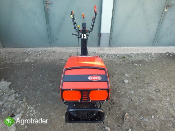 Traktorek jednoosiowy z glebogryzarką Goldoni 15SR - zdjęcie 3