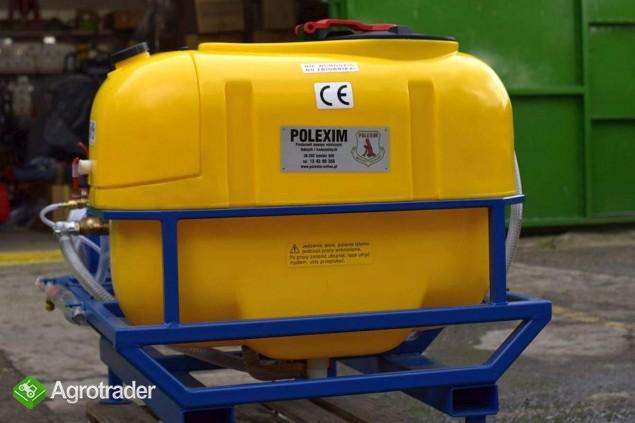 OPRYSKIWACZ elektryczny/myjka 400V  POLEXIM200E-400V: 200l 30-70l/min - zdjęcie 4