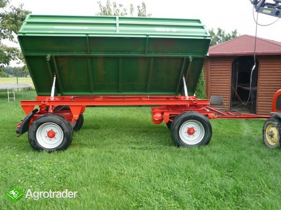 Przyczepa rolnicza ciężarowa THK 5 ton jak nowa OKAZJA wywrotka - zdjęcie 4