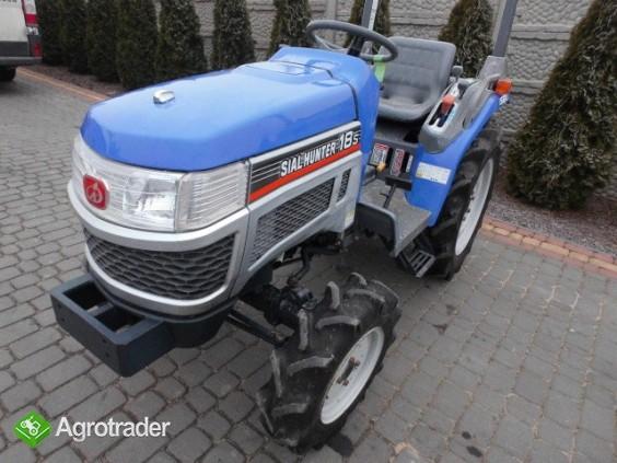 Iseki Sial Hunter 18 4X4 Wspomaganie mini traktor ciągnik ogrodniczy  - zdjęcie 3
