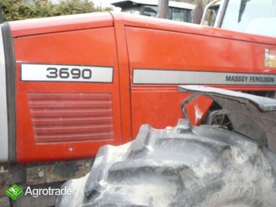 Osłona,maska silnika Massey Ferguson 3635, 3645, 3655, 3670,3680,  - zdjęcie 2