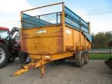 PRZYCZEPY JEDNO- i DWUOSIOWE ładowność 10-12 ton