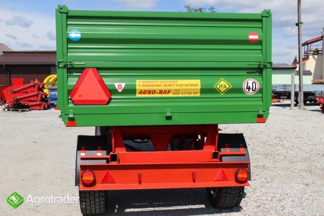 Przyczepa rolnicza ciężarowa THK 5 ton jak nowa OKAZJA wywrotka - zdjęcie 2